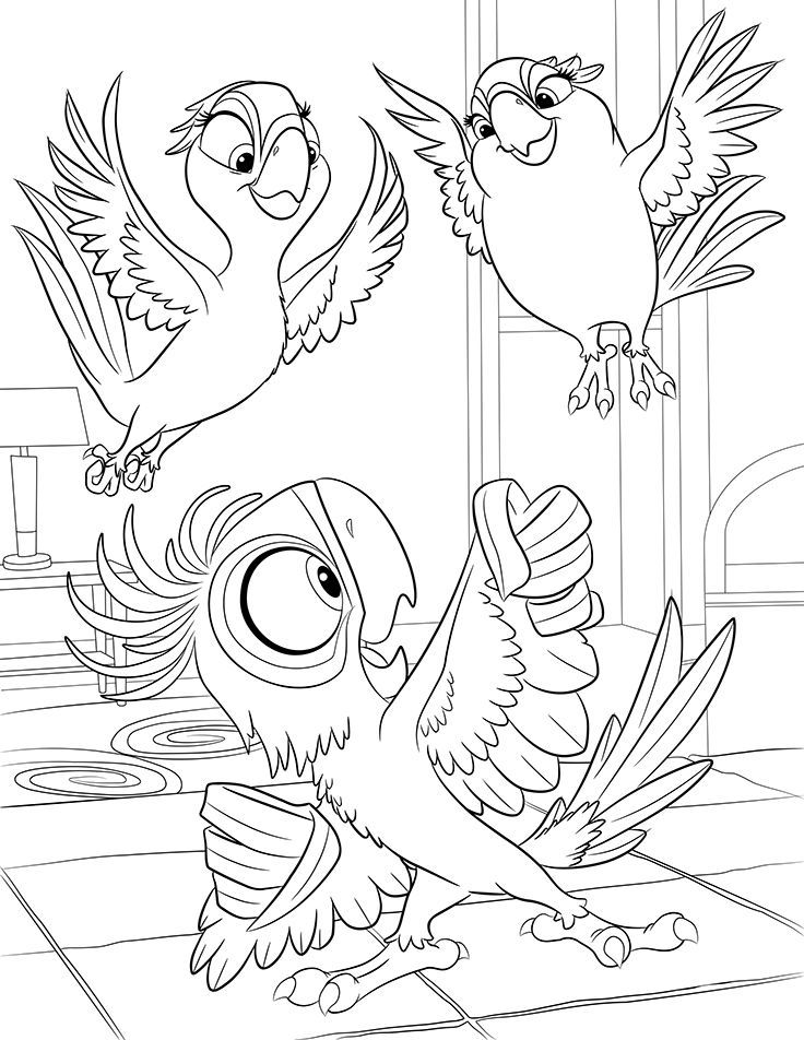 Rio 2 coloring sketchhttpcolorasketchcomrio 2 coloring pages