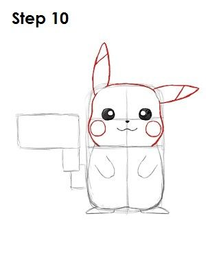 How To Draw Pikachu Pikachu Drawing Pokemon Sketch Pokemon Drawings