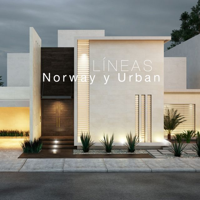 新築住宅の外観アイディア10選 箱型なナウトレンドデザイン: Arquitetura Residencial, Modelos De Sobrados, Fachadas