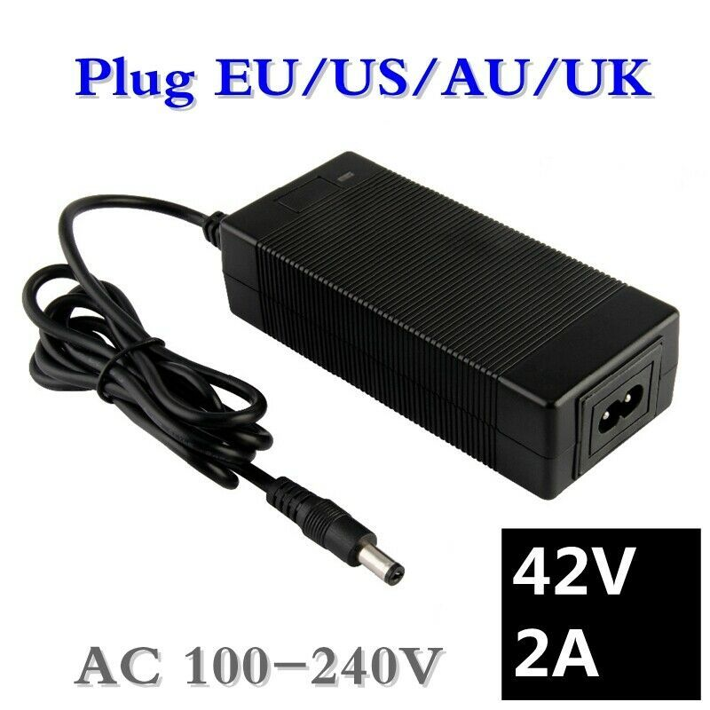 Best Seller New 36v 2a Battery Charger Output 42v 2a Charger Input