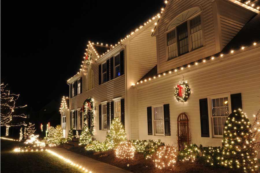 Exterior Christmas Decorating Service