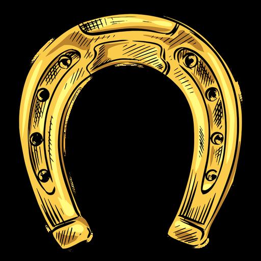Horse Shoe Gold Ad Horse Gold Shoe Horseshoe Gold Gold Horse