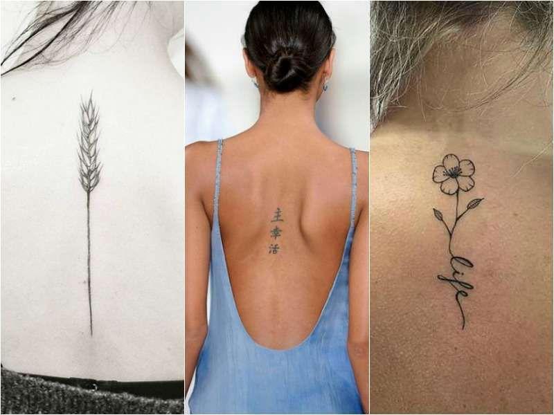 Tatuaggi Femminili Schiena Piccoli Tattoos Piercings Tattoos