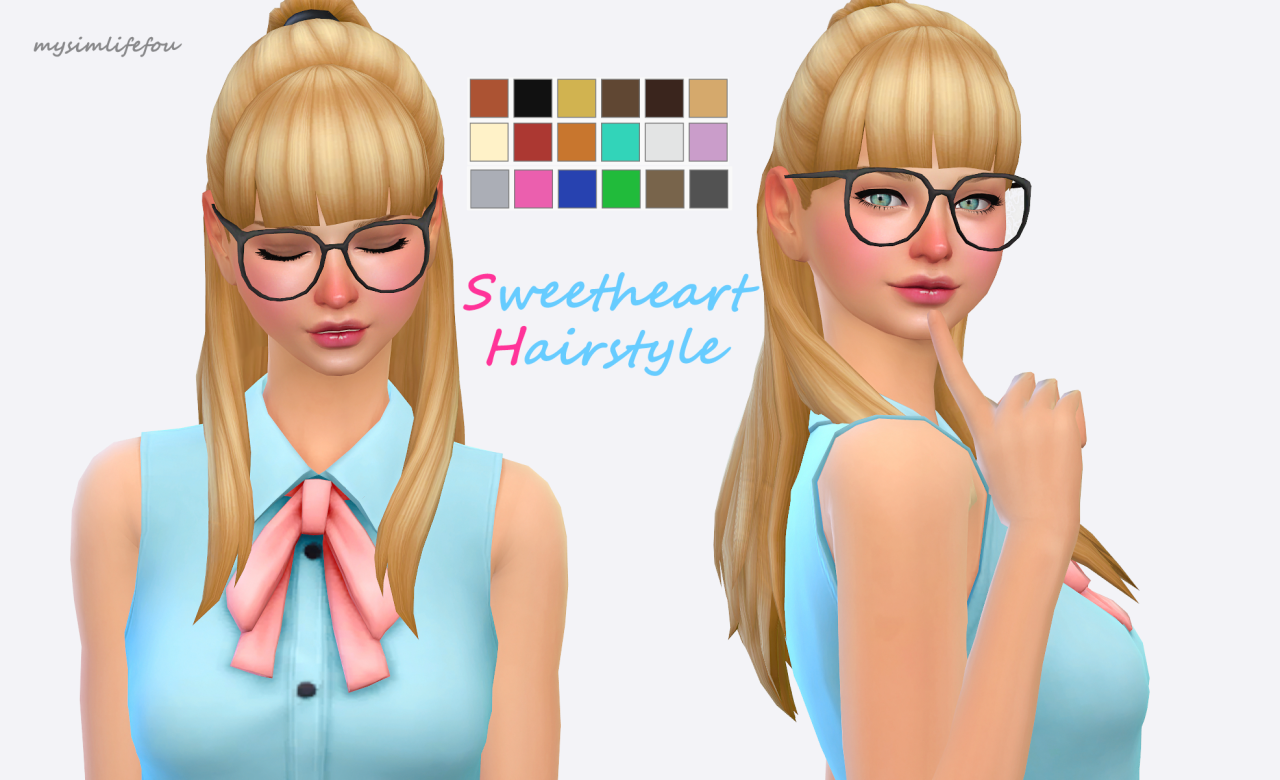 The sims freeplay long hairstyle - Taylor By Holosprite Clayfied Holosprite Anto Taylor Mm Package Sims 4 Cc Finds Pinterest Sims