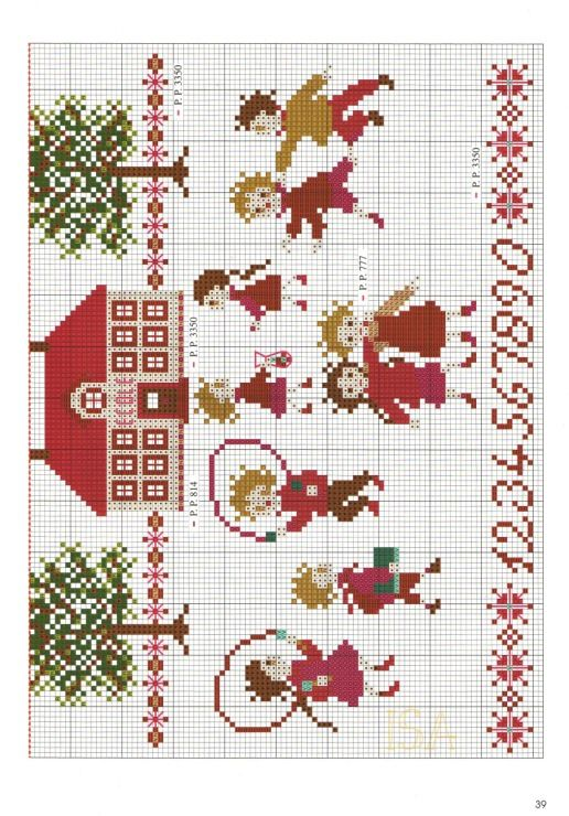 Pin de Sharon G en Cross Stitch | Pinterest | Nena, Navidad y Animales