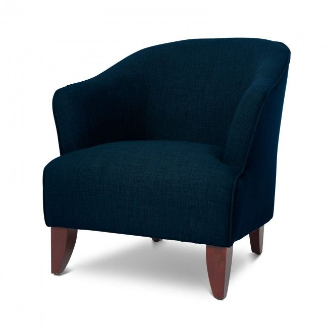 Salford Dark Blue Accent Chair Blue Accent Chairs Accent Chairs
