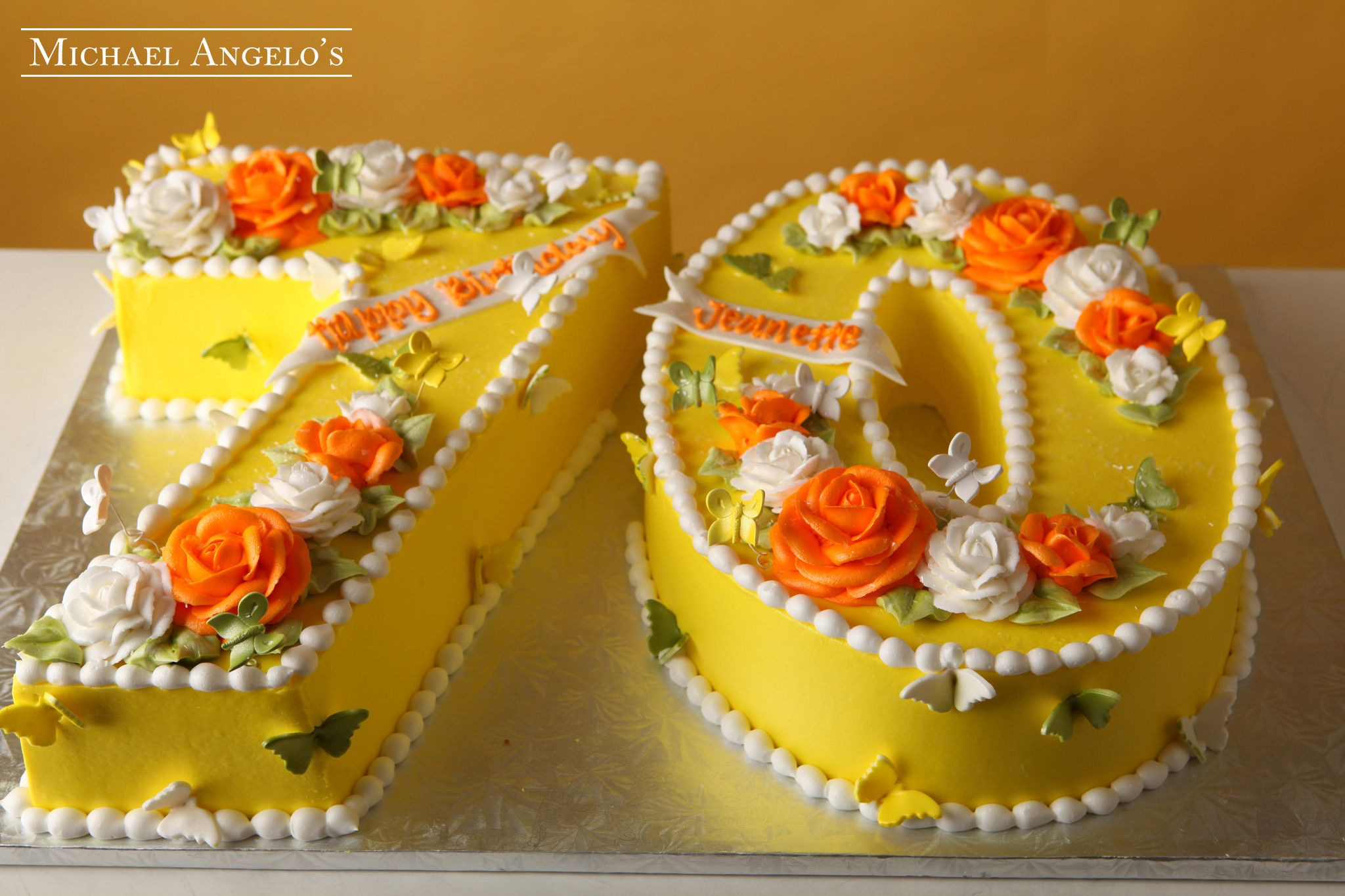 Butterfly Block 70 101Milestones Special Occasion Cakes