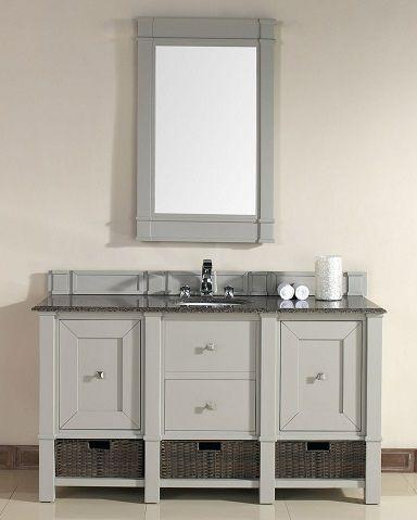 Madison 60 Single Bathroom Vanity Cabinet In Dove Gray 800 V60s Dvg From