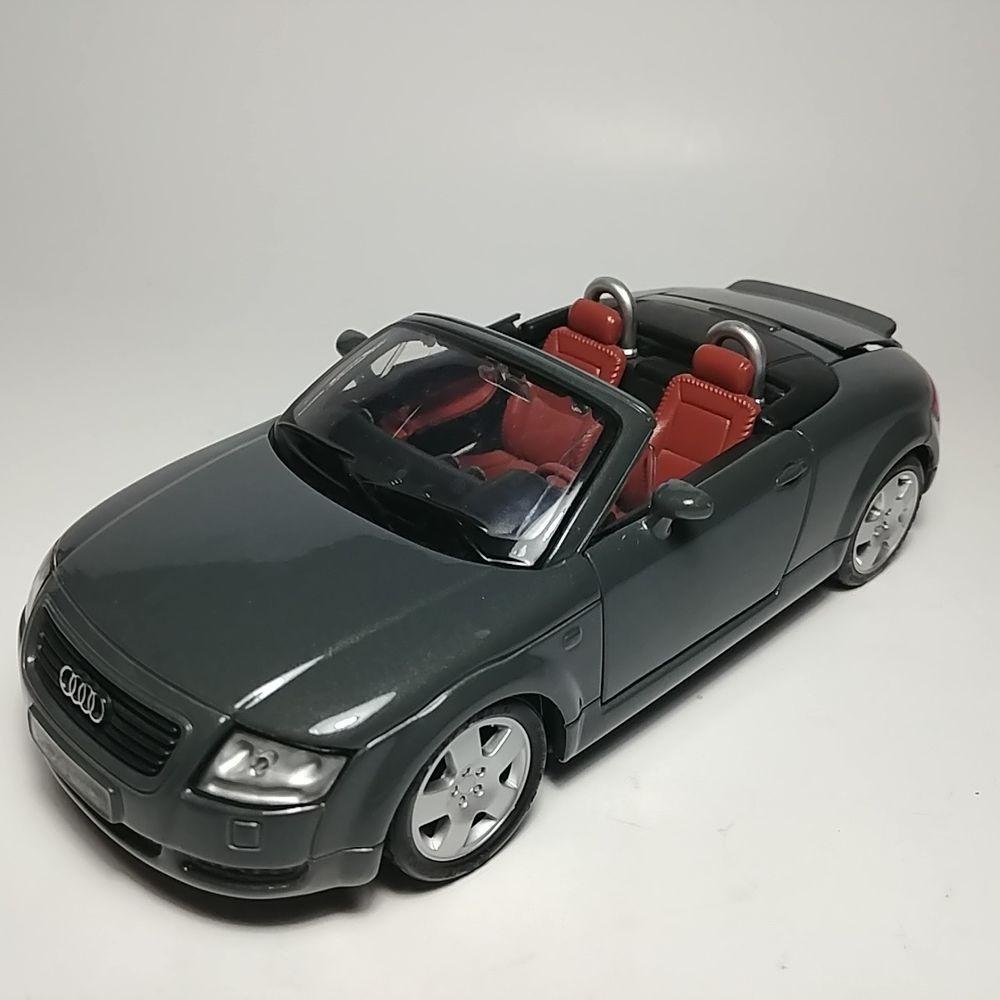 Maisto Gray Audi TT Roadster Convertible 124 Scale
