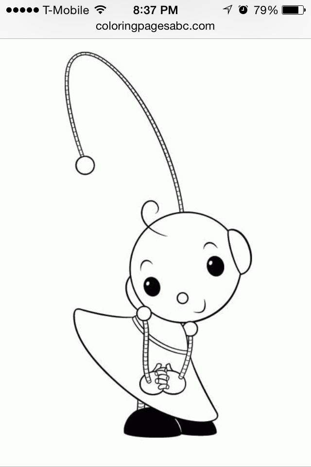 Rolie Polie Olie Embroidery Coloring Pages Drawings Projects