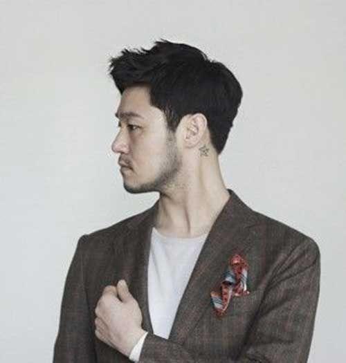 Men Wavy Short Hair Asian Hair Mens Hairstyles Short Asian Men Hairstyle