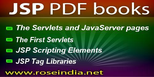 Java Server Pages Tutorial Pdf