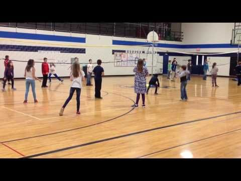 Newcomb Modified Volleyball Game Youtube Great Game For 4th 5th Grade Students Volleyball Games Volleyball Alternative Sports