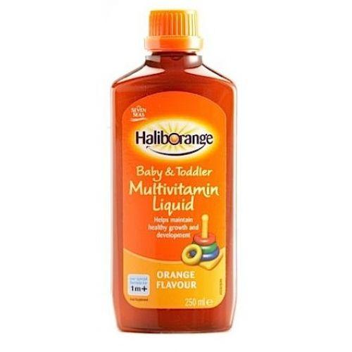 Haliborange Multivitamin Liquid With Images Vitamins And