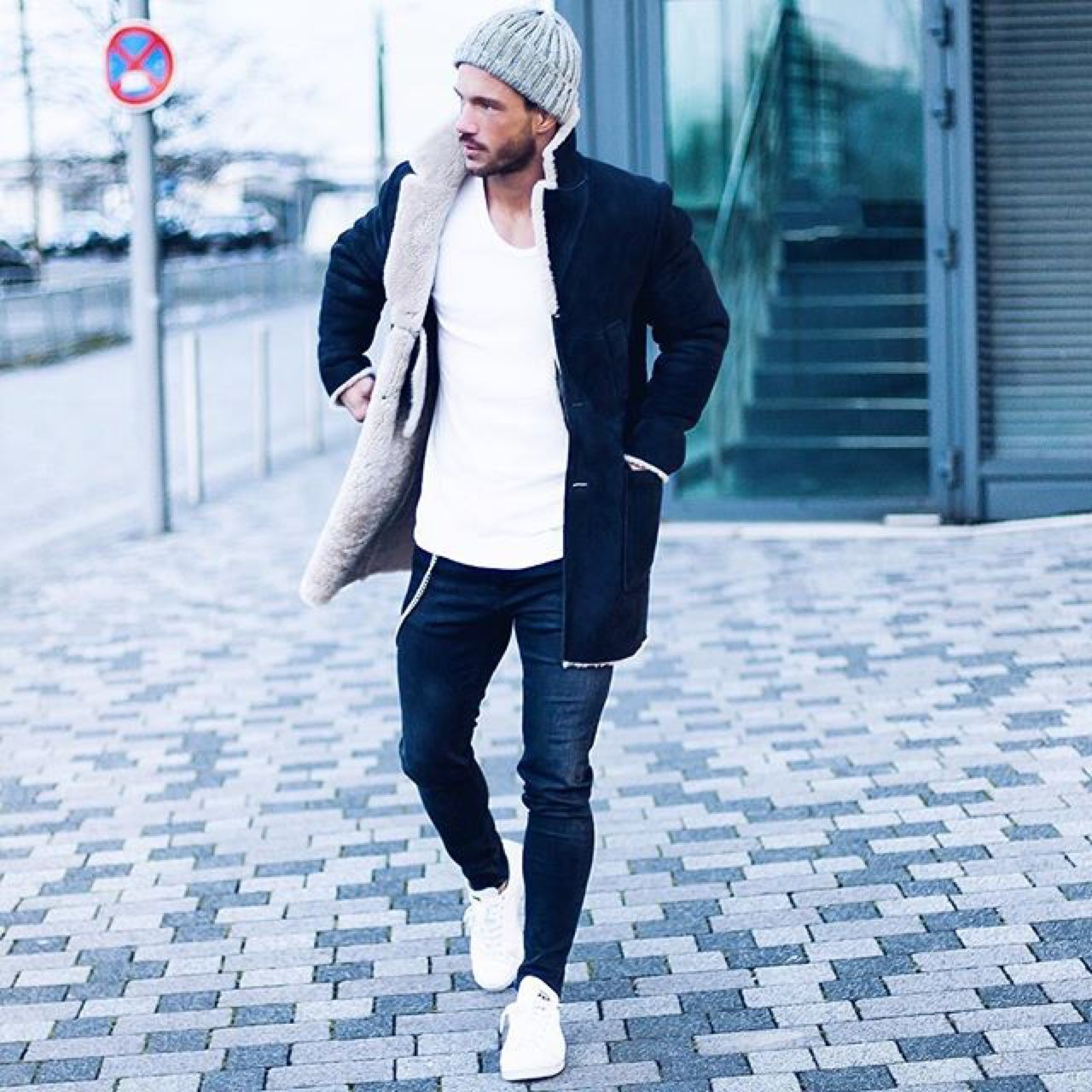 dress - Fashion Winter style men pictures video