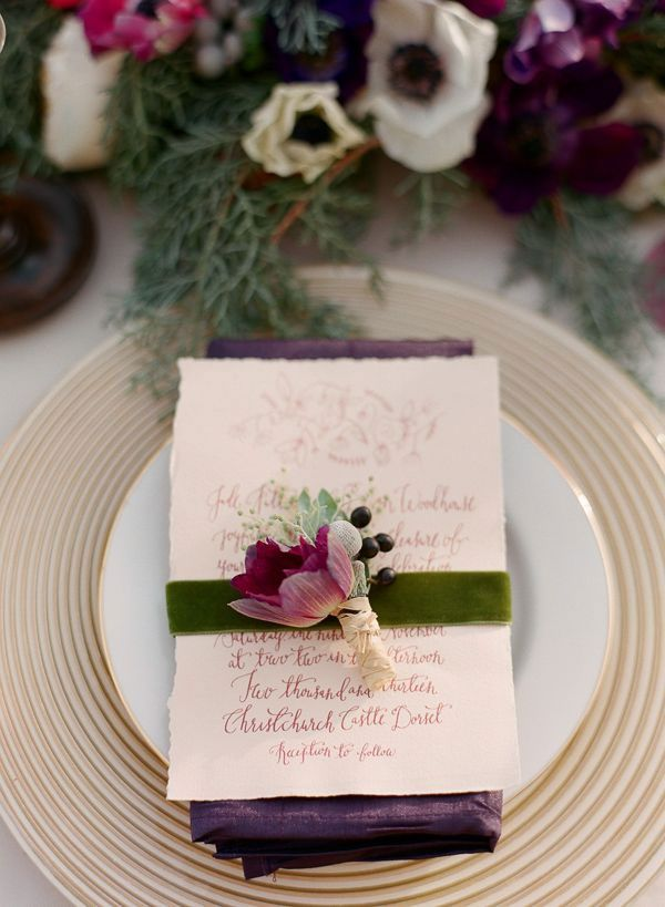 Plum Purple Wedding Plum Wedding Colors Wedding Menu And Purple