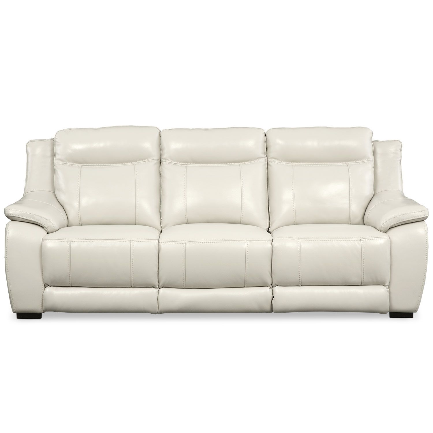 Living Room Furniture Lido Ivory Power Reclining Sofa