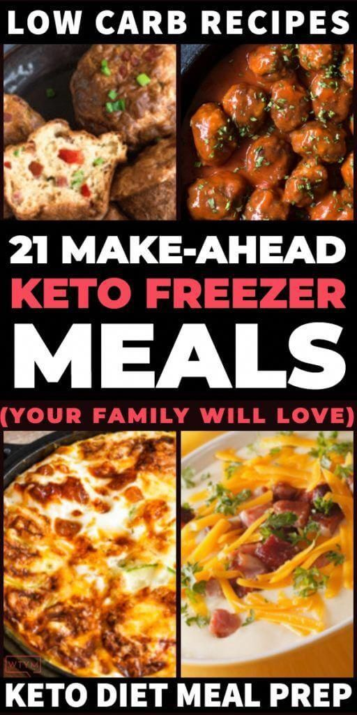 Make your keto meals ahead, lose weight & save money on the ketogenic diet with these easy keto freezer meals for meal prep day! Low carb slow cooker freezer meals, Instant Pot recipes and keto casseroles for breakfasts & dinner! Whether you're meal prepping for one or a family you'll love these keto freezer meals that help you lose weight, meal plan & stick to your budget! #keto #ketorecipes #lowcarb #makeahead #ketofreezermeals #freezer #freezermeal #mak #KetogenicProteinRecipes