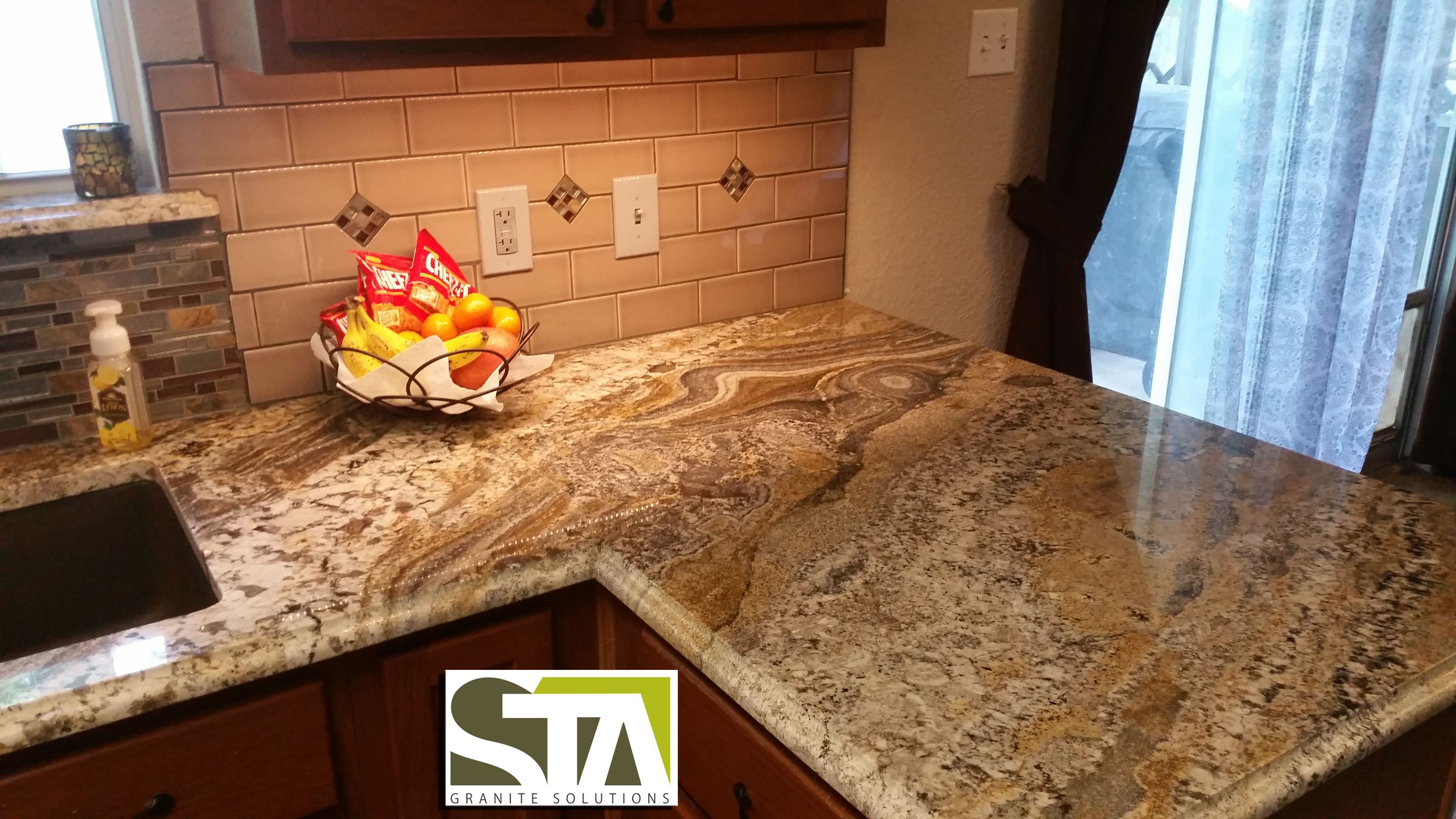 Persian Treasure Granite | Kitchen Remodel | Pinterest | Granite ...