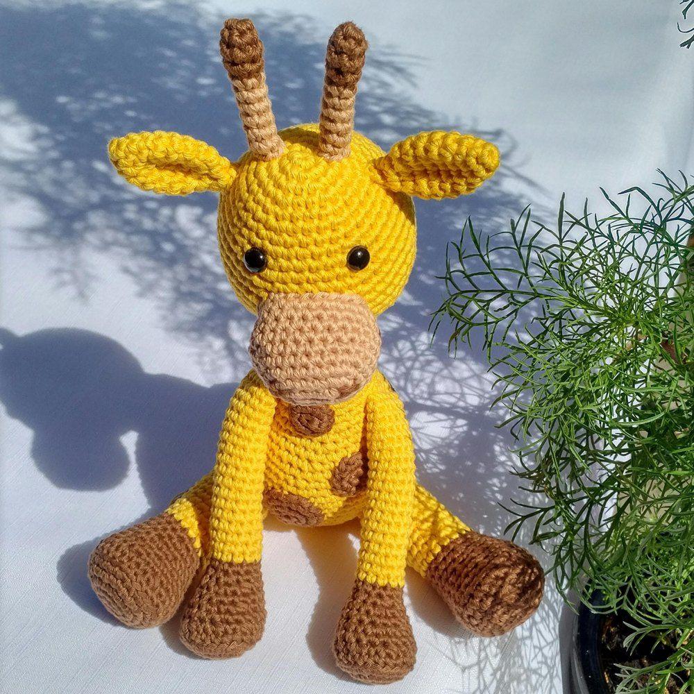 Cute Baby Giraffe pattern by Heather Kumpf | Giraffe crochet, Baby ... | 1000x1000