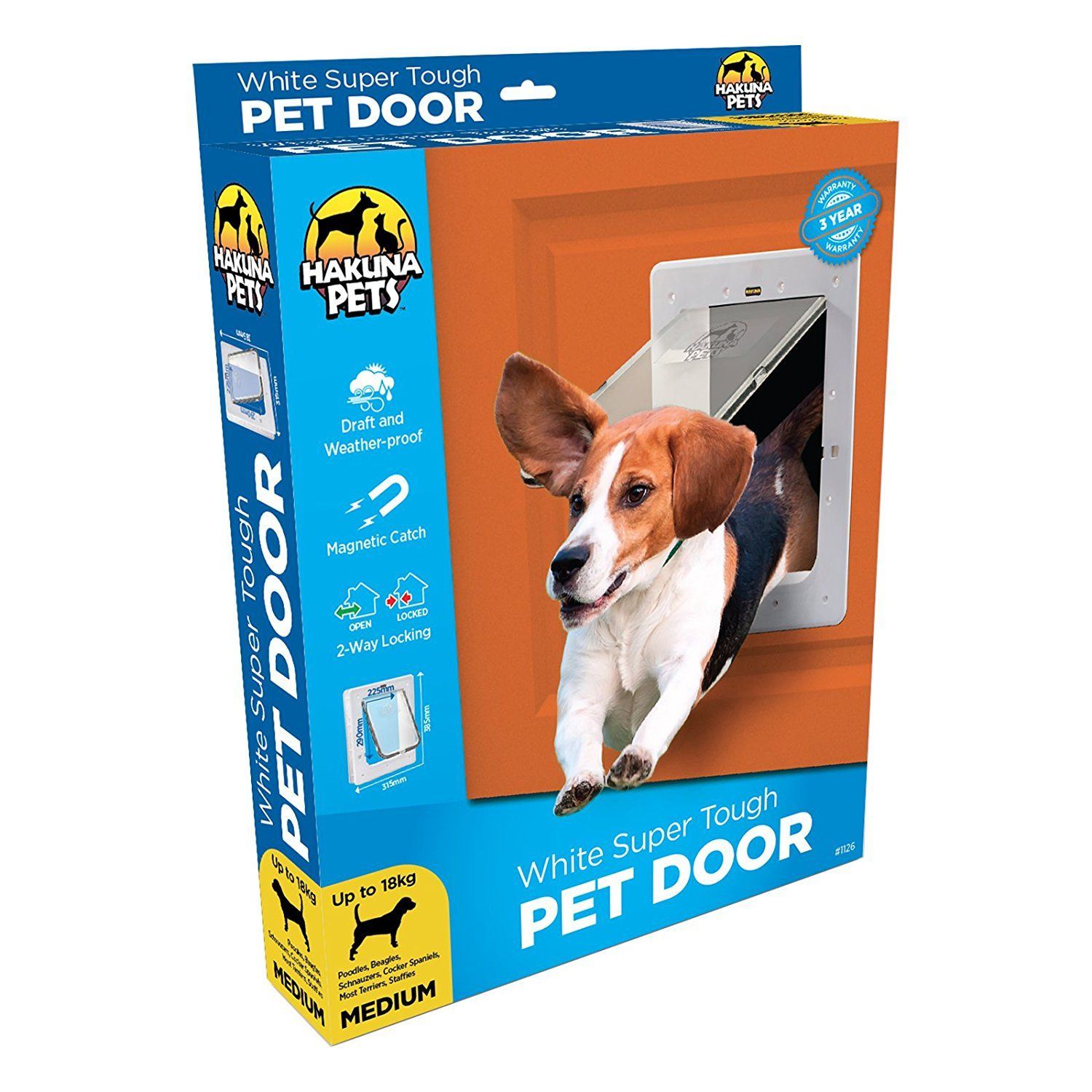 doors door storm pet petsafe plastic dog pin