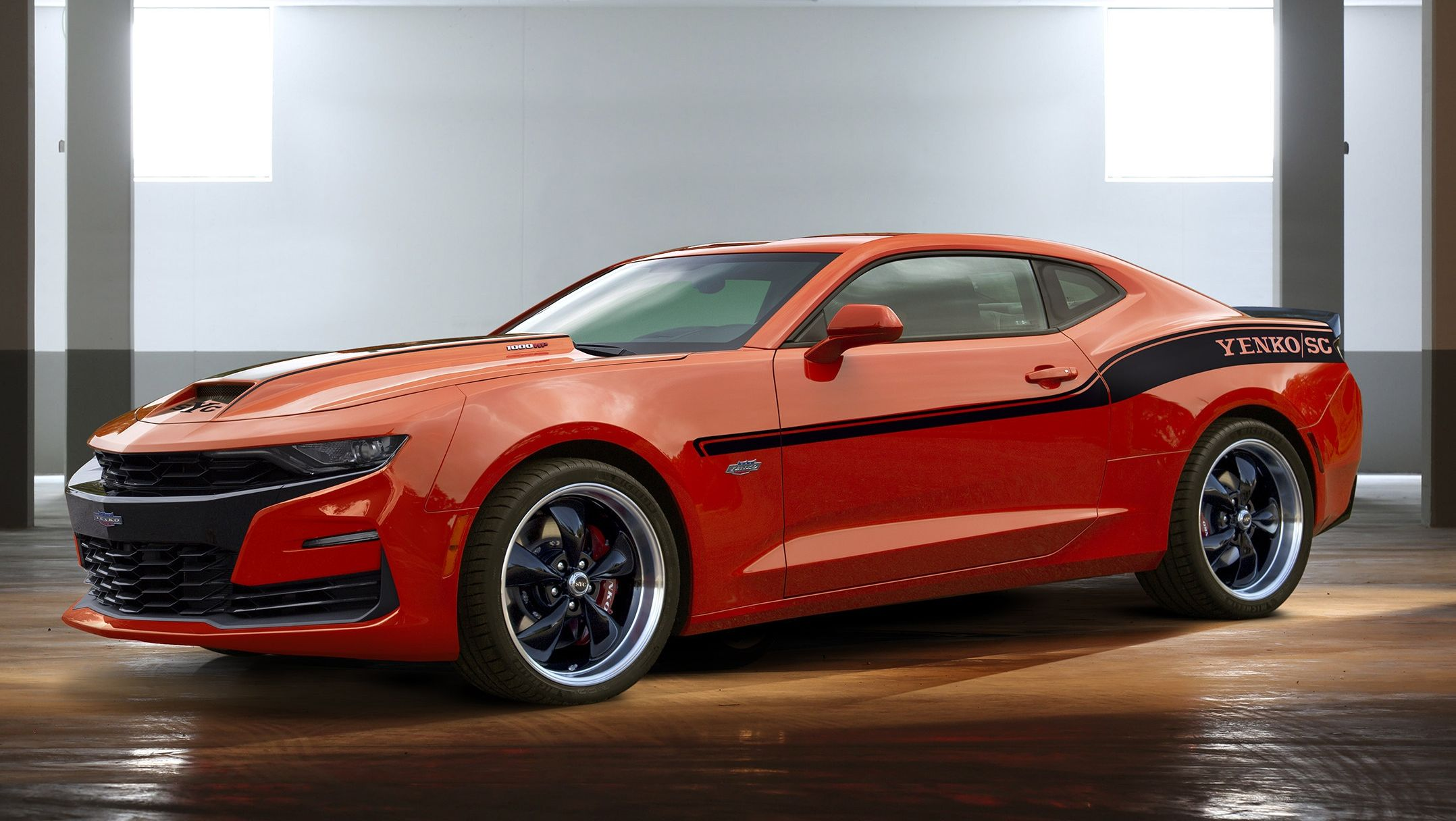The 2019 Yenko Chevy Camaro Is A 1 000 Hp Monstrosity Of A Muscle