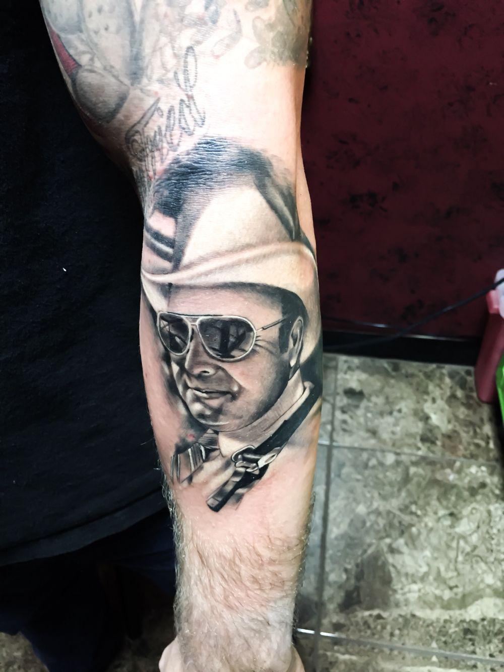 Watercolor tattoo artists in houston texas - Portrait Tattoo By Elijah Nguyen At Skin Stories Tattoo In Houston Tx Add Me On Instagram