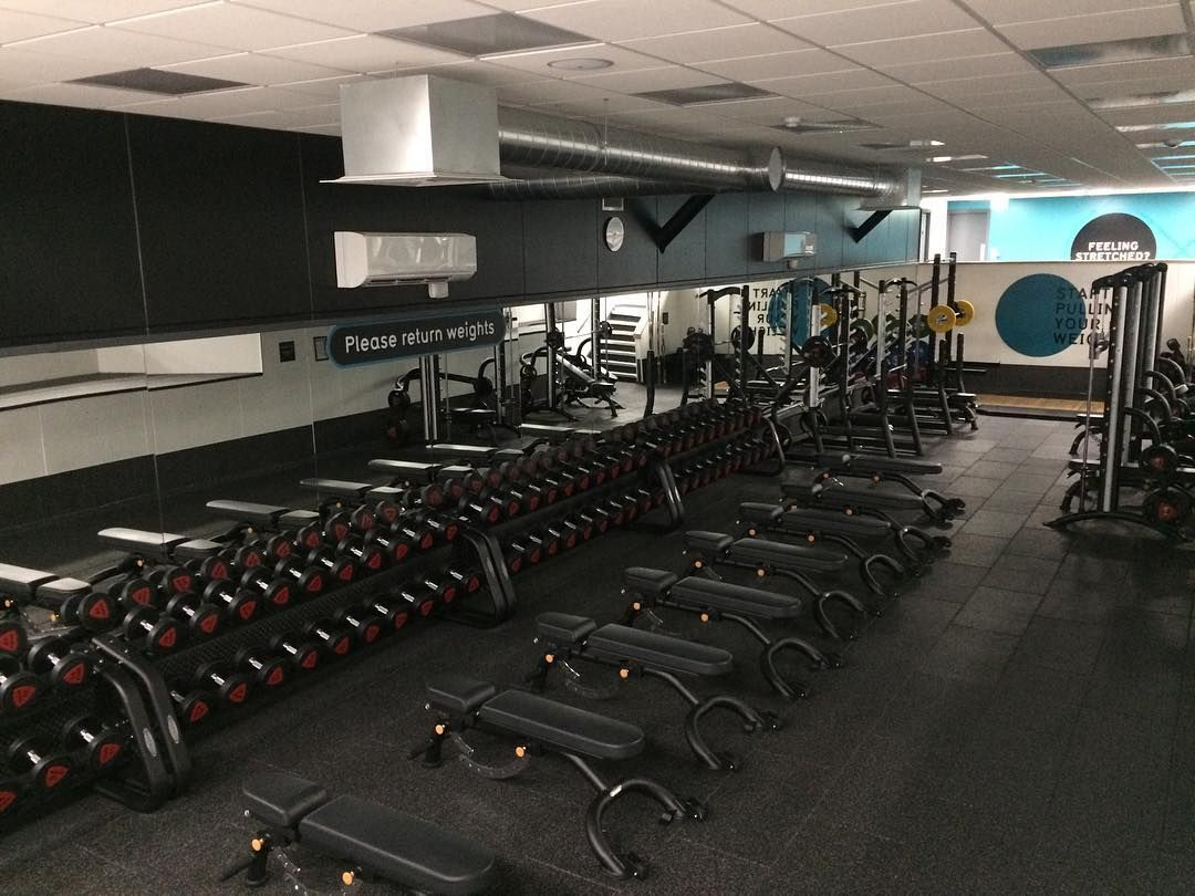 Pure Gym Canary Wharf >> First One In This Morning Puregym Canarywharf Gym