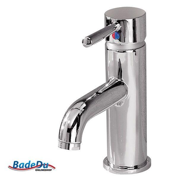glänzend im bad und schön schlicht - fackelmann einhebelmischer