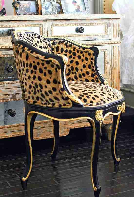 Animal Print Accent Chairs Zebra Inside Leopard Chair Decor 9