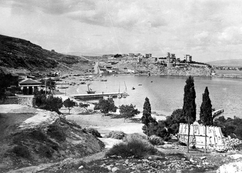Το λιμάνι του Φαλήρου, 1916