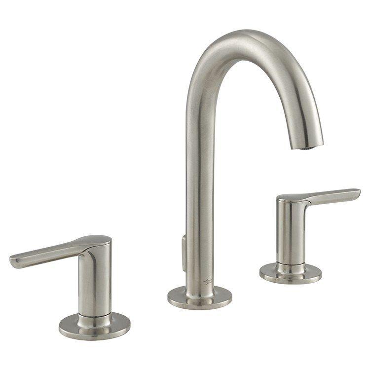 Studio S Two Handle Widespread Bathroom Faucet With Pop Up Drain