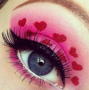 Make up for valentines day