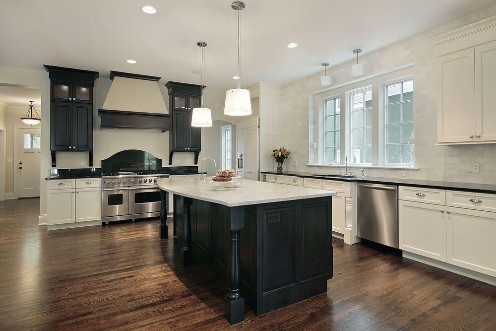 111 Luxury Kitchen Designs Love Home Designs Luxury Kitchen Design White Kitchen Design Black White Kitchen