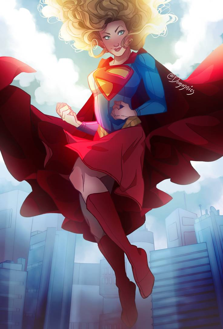 Girl Of Steel By Domnics On Deviantart With Images Character