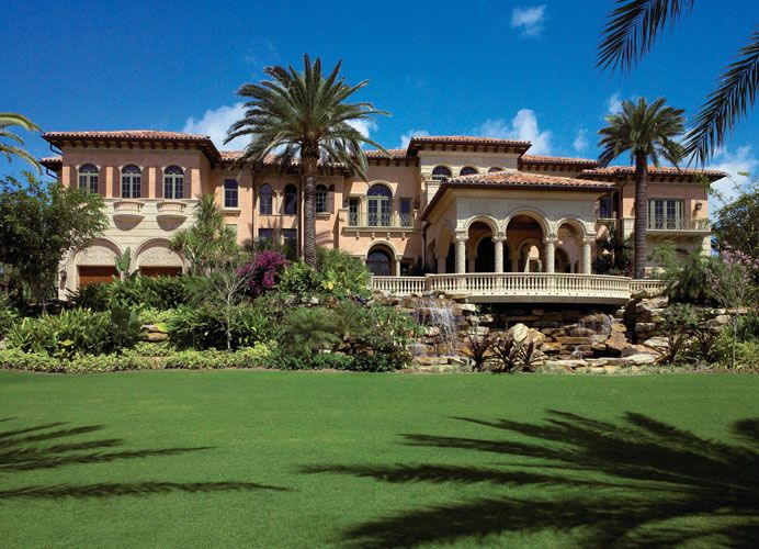 Opulent  Square Foot Oceanfront Mega Mansion In North Palm Beach Fl
