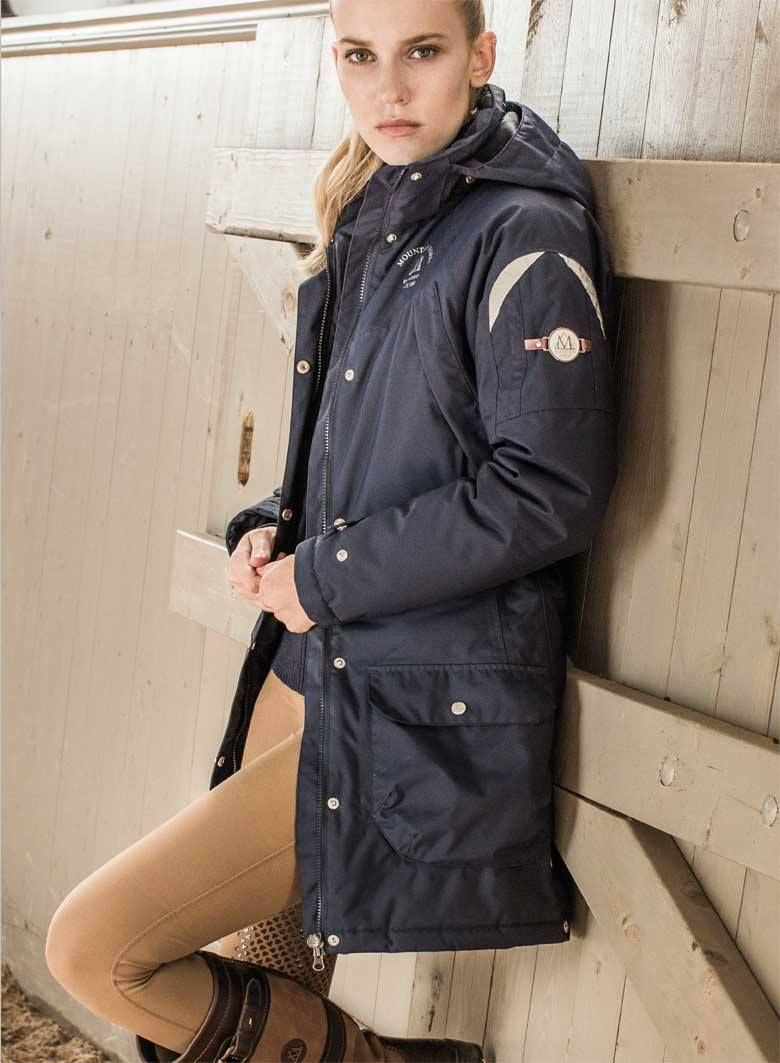 Warm Waterproof Windproof And Breathable The Mountain Horse Usa Adventure Parka Offers Ultimate Protection To Keep You Parka Coat Equestrian Outfits Clothes [ 1063 x 780 Pixel ]