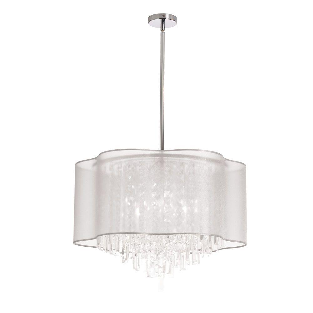 Dainolite lighting illcpc light crystal pendant in