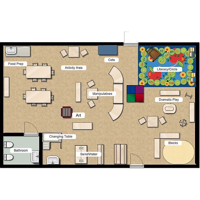 Toddler layout classroom layout pinterest layouts for Floorplanner for restaurants
