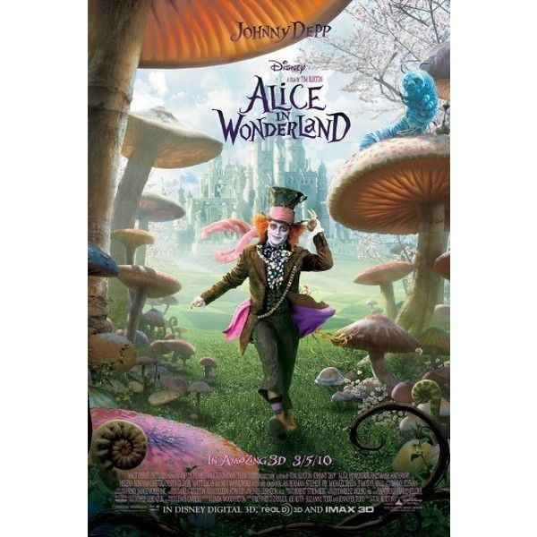 Alice in Wonderland found on Polyvore