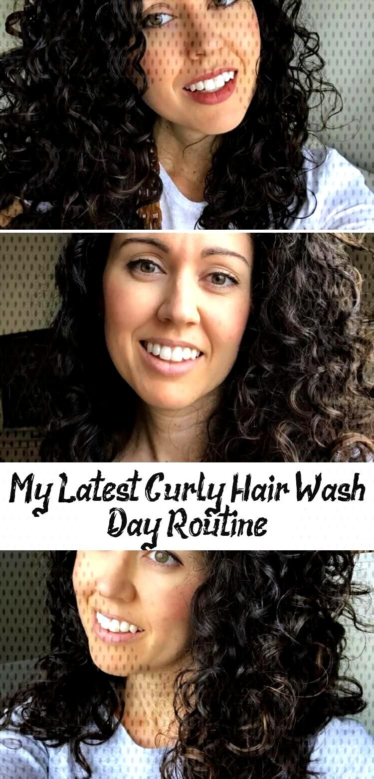 My Latest Curly Hair Wash Day Routine - Hair Care My Latest Curly Hair Wash Day Routine - Hair Care