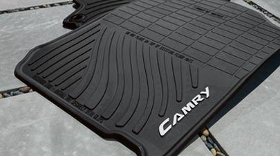 Camry All Weather Floor Mats Black 4 Piece Set 2012 2014 Camry