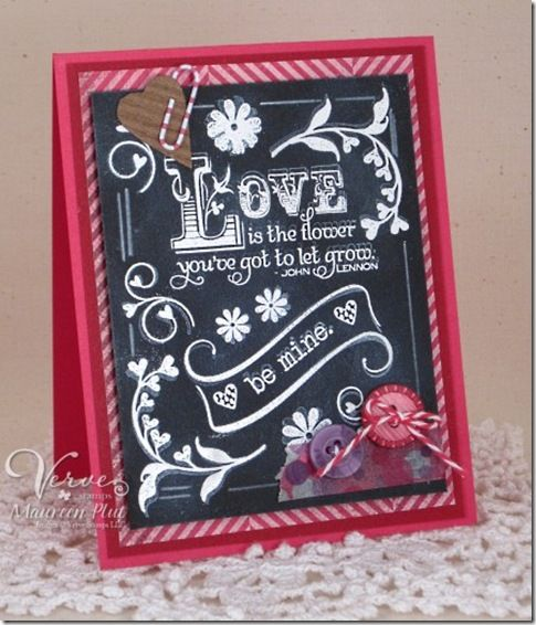 lovechalkboardmaureenplut---Chalkboard technique....includes tutorial link!