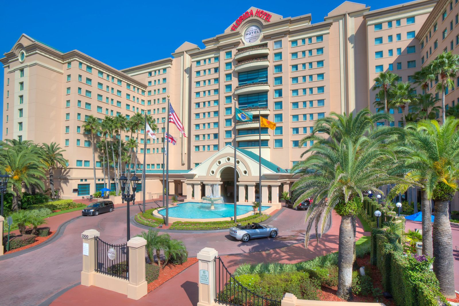 The Florida Hotel And Conference Center In Orlando Rooms 500 Meeting