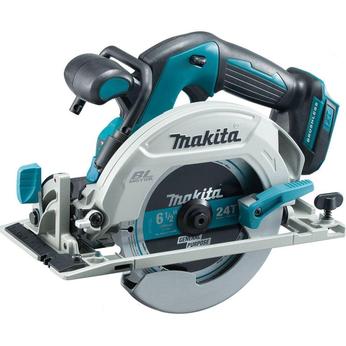 Makita Xsh03z 18v Lxt Brushless Cordless 6 1 2 Circular Saw Tool Only Cordless Circular Saw Makita Tools Saw Tool