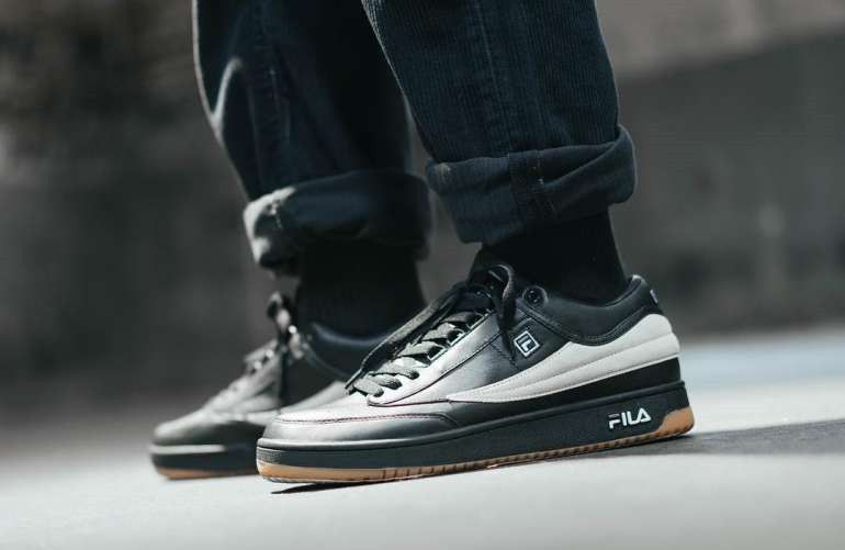quality design 6b2ff cb5dd AAPE by A Bathing Ape x FILA T-1 Mid Sneakers Nike Shoes For Sale