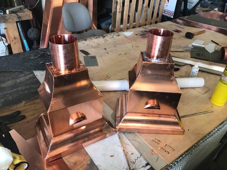 Copper Copperroof Coppergutters Gutters Okc Okcroof Bestofokc Bestroofokc Bestroof Oklahoma Roof Copper Gutters Copper Roof Copper