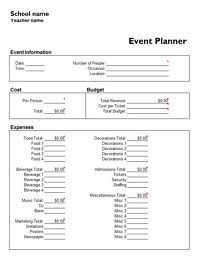 party planning form