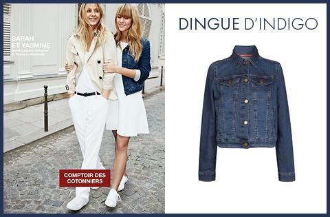 Nouvelle collection comptoir des cotonniers du denim l indigo comment le porter jean - Nouvelle collection comptoir des cotonniers ...