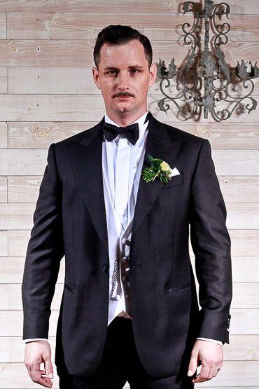 Steve Costume Sur Mesure De L 39 Atelier 5 Finitions Smoking Chemise Sur Mesure Col Cass